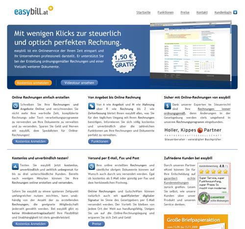 Online Rechnungen Schreiben Mit Easybillat