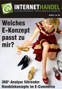 Welches E-Konzept passt zu mir? Titelblatt Onlinemagazin Internethandel 04/2012