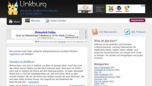 linkburg-de-screenshot