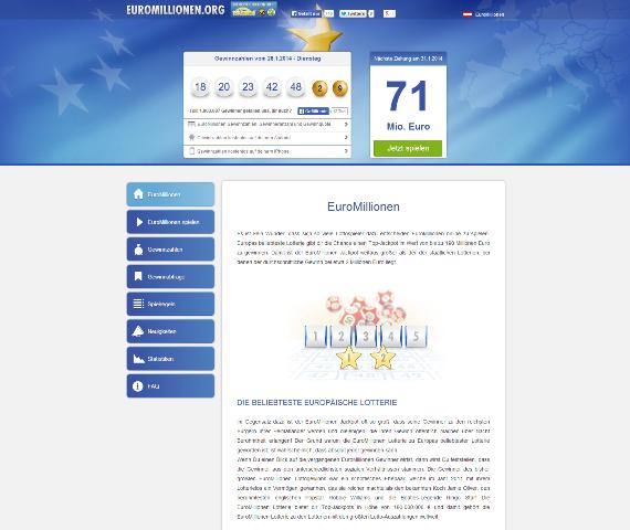 Glücksspiel EuroMillionen - beliebteste Lotterie Europas